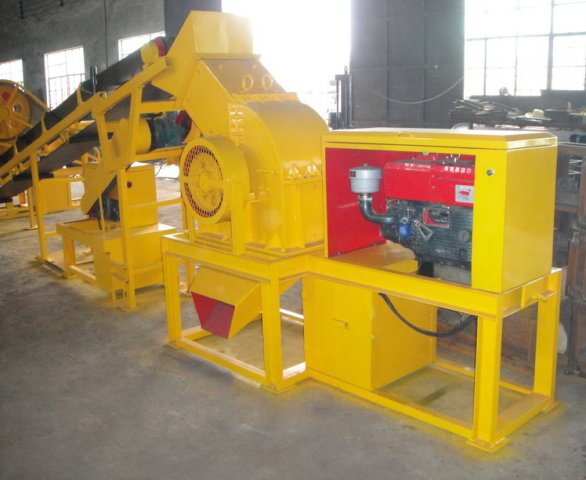 Diesel Engine Crusher PCC4060